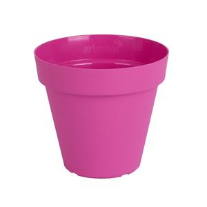 Vaso Plástico Capri Rosa Médio