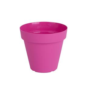 Vaso Plástico Capri Rosa Pequeno