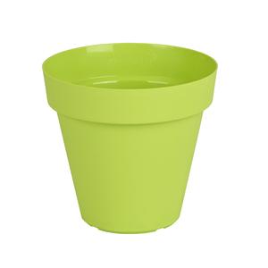 Vaso Plástico Capri Verde Médio