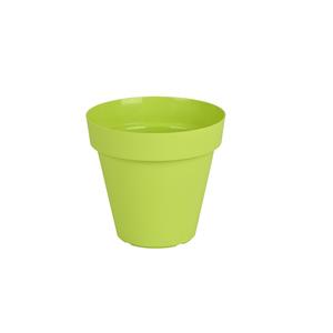 Vaso Plástico Capri Verde Mini