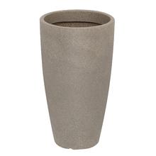 Vaso Plástico Malta Cone Pedra Extra Grande