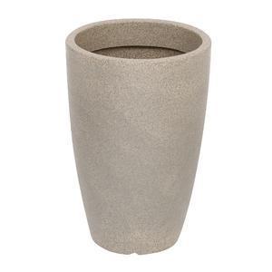 Vaso Plástico Malta Cone Pedra Grande