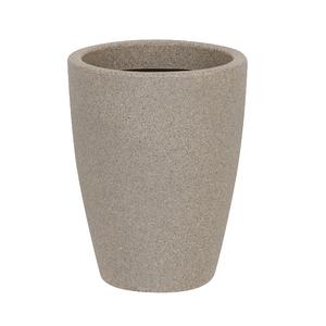 Vaso Plástico Malta Cone Pedra Médio