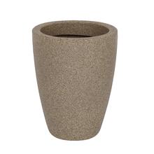 Vaso Plástico Malta Cone Pedra Pequeno