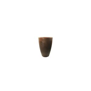 Vaso Plástico Malta Cone Rusty Pequeno