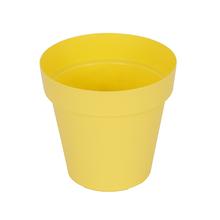 Vaso Plástico Sampa Amarelo Grande