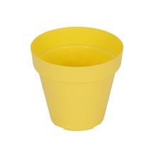 Vaso Plástico Sampa Amarelo Médio