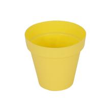 Vaso Plástico Sampa Amarelo Pequeno