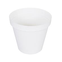 Vaso Plástico Sampa Branco Extra Grande