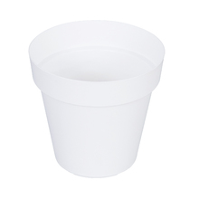 Vaso Plástico Sampa Branco Grande
