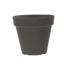 Vaso Plástico Sampa Cinza Médio