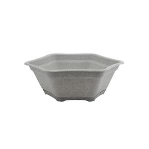 Vaso pl stico suculenta com prato granito pequeno leroy for Prato a rotoli leroy merlin
