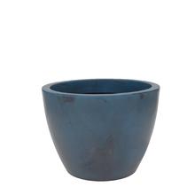 Vaso Plástico Verona Azul Médio