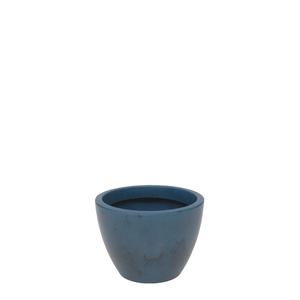 Vaso Plástico Verona Azul Pequeno