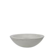 Vaso Plástico Verona Bowl Branco Grande