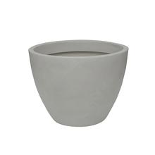 Vaso Plástico Verona Branco Extra Grande