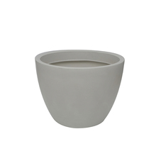 Vaso Plástico Verona Branco Grande