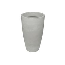 Vaso Plástico Verona Cone Branco Extra Grande
