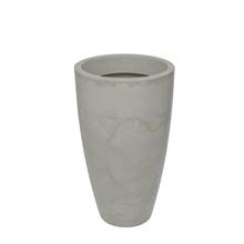 Vaso Plástico Verona Cone Branco Grande