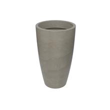 Vaso Plástico Verona Cone Camurça Extra Grande