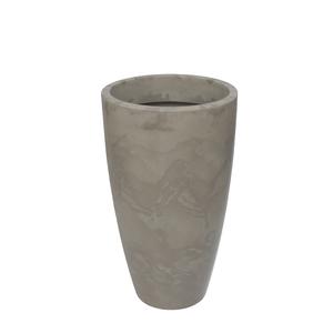 Vaso Plástico Verona Cone Camurça Grande