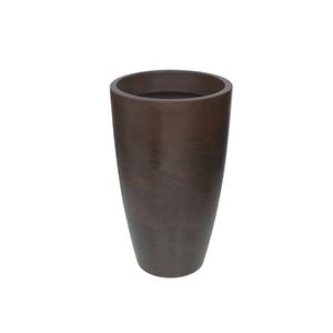 Vaso Plástico Verona Cone Rusty Extra Grande