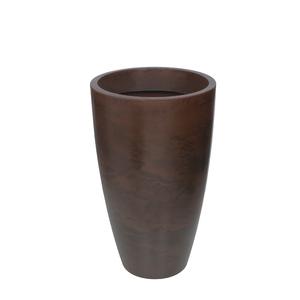 Vaso Plástico Verona Cone Rusty Grande