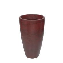 Vaso Plástico Verona Cone Vermelho Grande