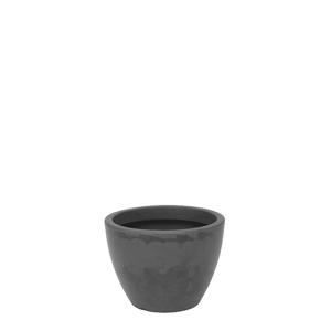 Vaso Plástico Verona Preto Pequeno