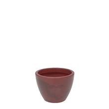 Vaso Plástico Verona Vermelho Pequeno