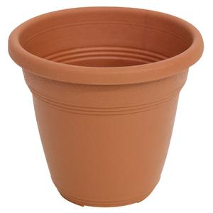 Vaso Plástico Vicenza Terracota Pequeno