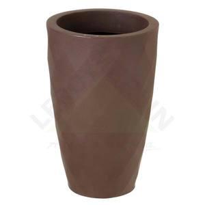Vaso Polipropileno Safira cônico 48x30cm Tabaco Nutriplan