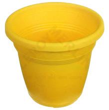 Vaso Polipropileno Vicenza 10x13cm Amarelo Desli