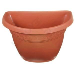 Vaso pl stico para parede vicenza terracota m dio leroy for Vaso terracotta leroy merlin