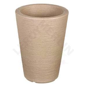 Vaso pl stico cone bege extra grande leroy merlin for Vaso terracotta leroy merlin