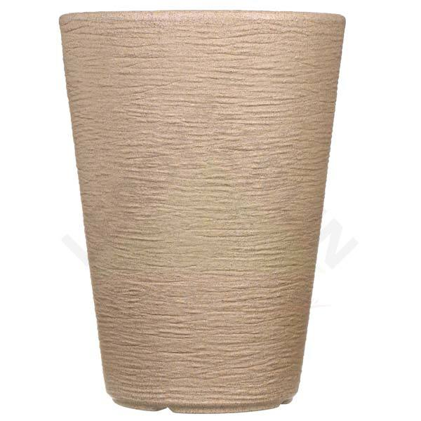 Vaso pl stico cone bege extra grande leroy merlin for Vasi in terracotta leroy merlin