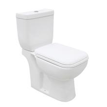 Vaso Sanitário com Caixa Acoplada 3/6L Cretta Branco Sensea