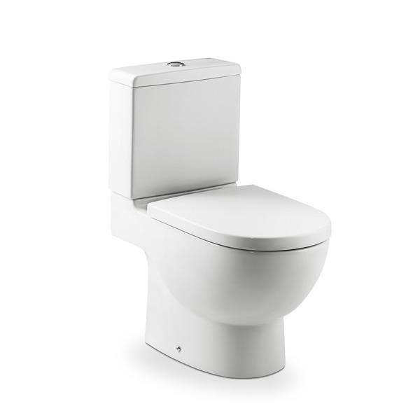 Vaso sanit rio com caixa acoplada 3 6l meridian n branco for Sanitarios roca