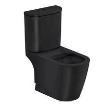 Vaso Sanitário com Caixa Acoplada 3/6L Saída Vertical Rimless Preto Incepa