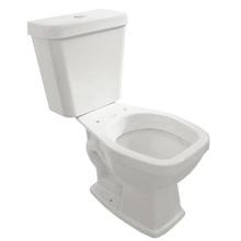Vaso Sanitário com Caixa Acoplada 3/6L Saída Vertical Viseu Branco Luzarte