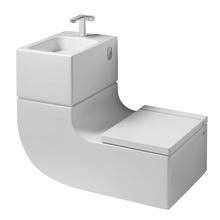 Vaso Sanitário com Caixa Acoplada 3/6L W+W Branco Roca