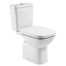 Vaso Sanitário com Caixa Acoplada e Assento Sanitário 3/6L Debba Branco Roca