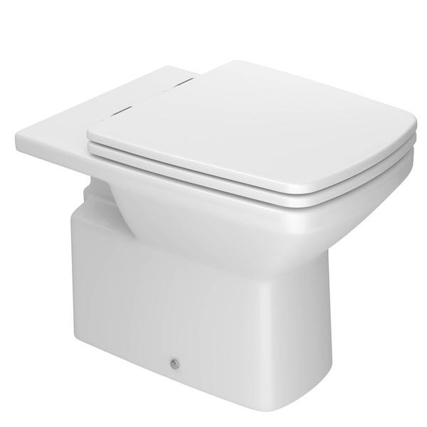 Aparador Em U Madeira ~ Vaso Sanitário Convencional Clean Branco Deca Leroy Merlin