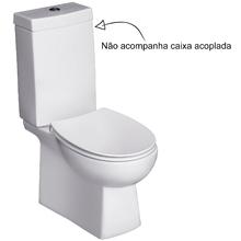 Vaso Sanitário para Caixa Acoplada Branco Aruba Jacuzzi