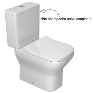 Vaso Sanitário para Caixa Acoplada Branco Axis Deca