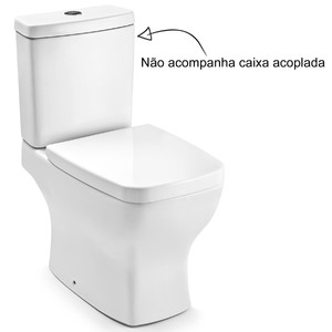 Vaso Sanitário para Caixa Acoplada Branco Boss Incepa