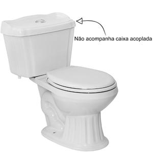Vaso Sanitário para Caixa Acoplada Branco Brescia Eternit