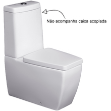 Vaso Sanitário para Caixa Acoplada Branco Ciprea Jacuzzi
