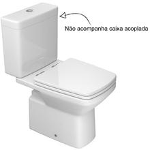 Vaso Sanitário para Caixa Acoplada Branco Clean Deca