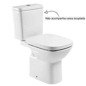 Vaso Sanit Rio Para Caixa Acoplada Branco Debba Roca